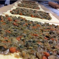 Empanada de verduras y...