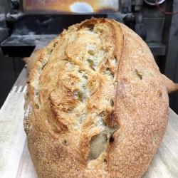 Pan de Olivas con harina de...
